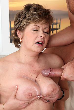 Slutty bosomy mature cumshots amateur pics