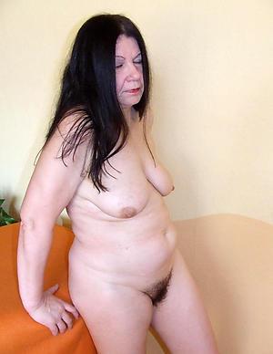 Sweet unshaved mature women