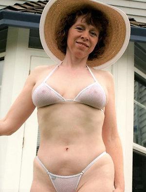Naughty mature bikini babes