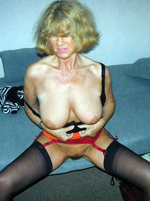 Busty old blonde porn pics