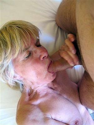 Favorite homemade mature blowjob amateur photo