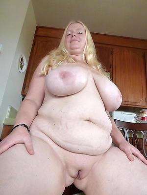 White mature pussy