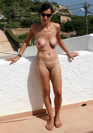 Busty beautiful mature sexy column