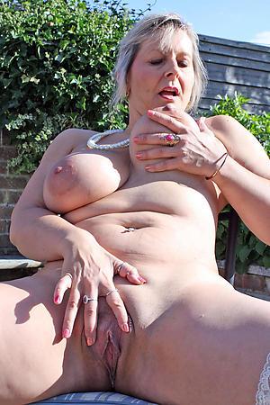 Pretty nude hot well-endowed grown up women
