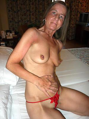 Gorgeous mature older woman