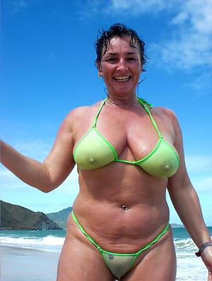 Pretty mature body of men relating to bikinis pics