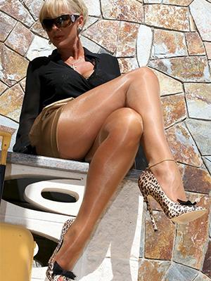 Amateur pics be incumbent on mature women pantyhose