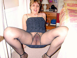 Pretty mature column pantyhose naked snapshot