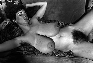 Vintage busty nude