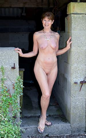 Surprising european mature porn photo