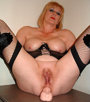 Favorite mature milf masturbating