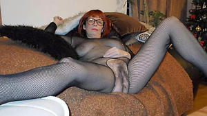 Slutty mature in pantyhose nude pics