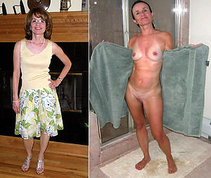 Amateur pics of dressed revealed matures