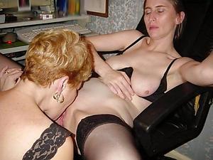 Busty amateur mature lesbians
