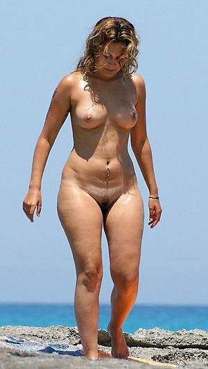 Nude simmering of age beach pics