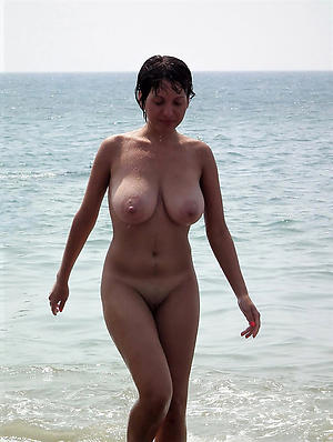 Nude of age at the beach pics