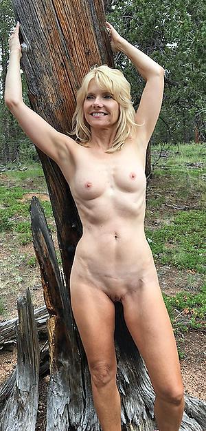 Hot porn of skinny mature just