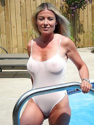 Naughty mature bikini photos