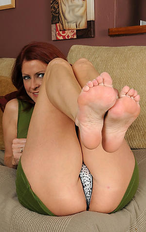 Beautiful grown-up womens feet