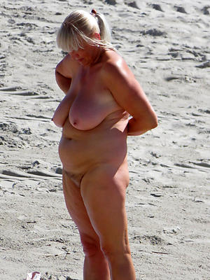Reality matures on the beach naked photos