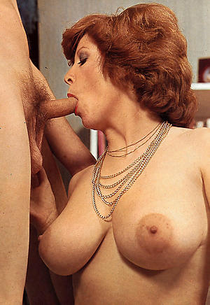 Beautiful vintage mature pictures