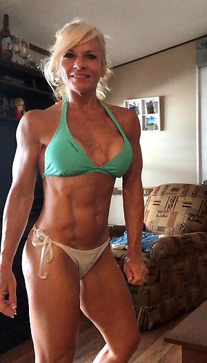 Beautiful denude muscle mature