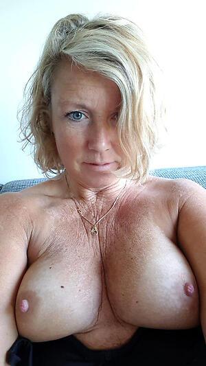 Slutty mature selfshots nude