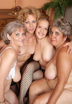 Beautiful mature group sex