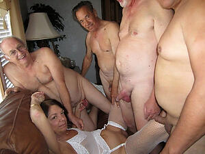 Pretty grown-up women group sex