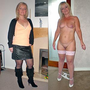 Best dressed undressed mature photos
