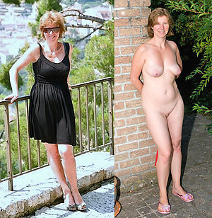 Amazing matures dressed and undressed photos