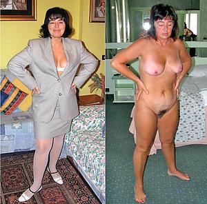 Xxx older mom dressed undressed pics
