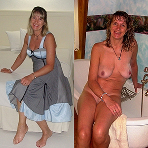 Cute mature moms dressed and undressed pics