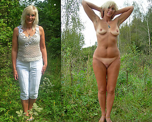Amateur pics of dressed then undressed