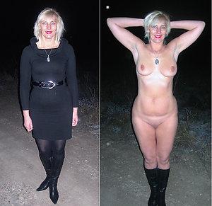 Favorite dressed undressed older girls pics