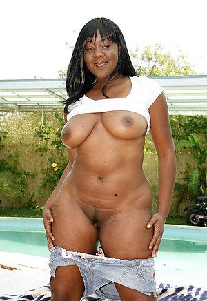 Pretty hot ebony old women photo