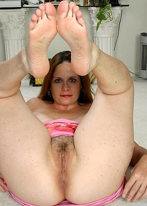 Sweet mature ladies feet photo