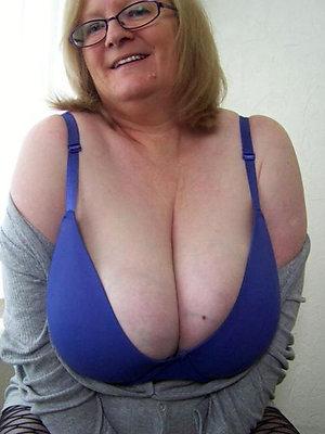 Amazing big tit granny photos