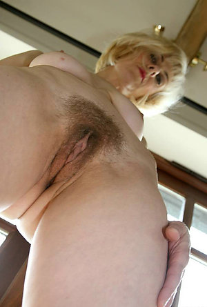 Real amateur hairy mature wife