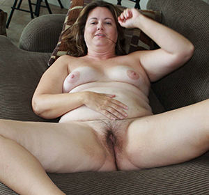 Nude older women with hairy pussy