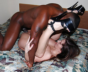 Inexperienced interracial ass fuck pics