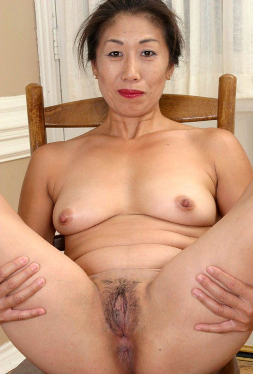 Naked asian older women
