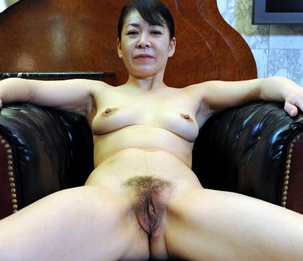 Hot asian granny nude pic