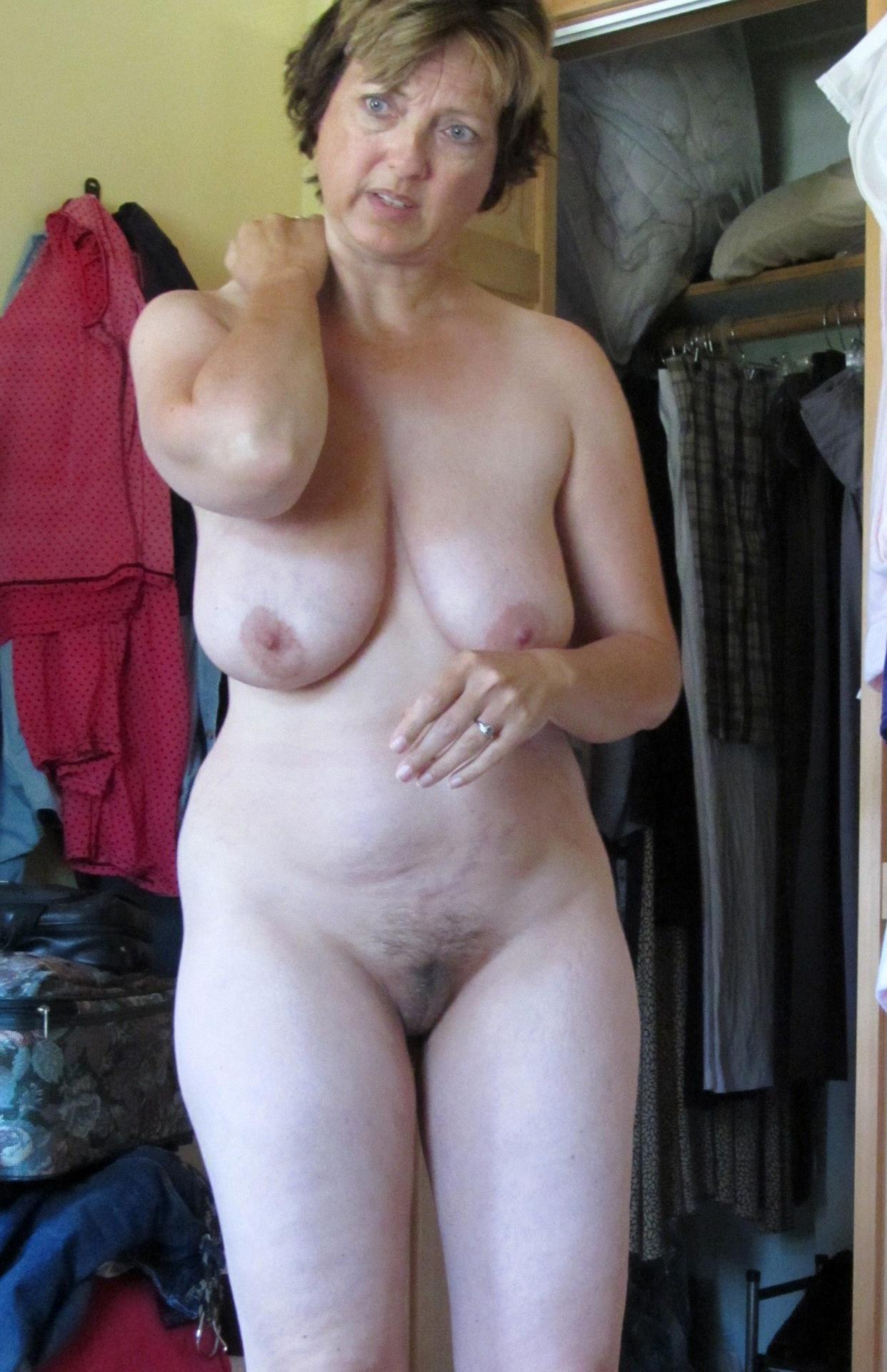 Nude female fitness yoga