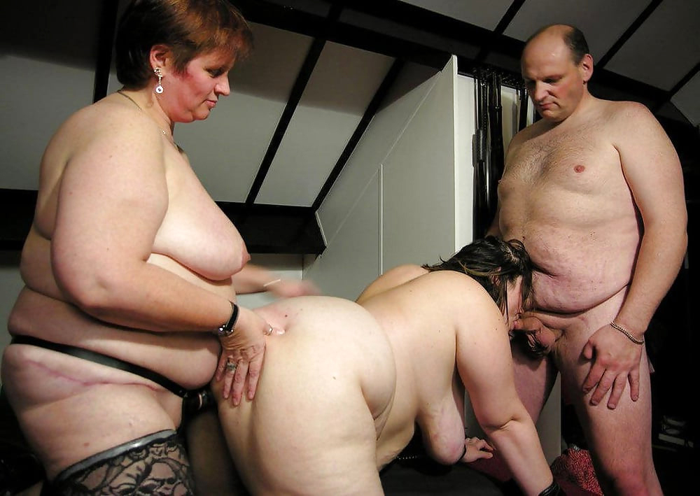 Mature group naked for