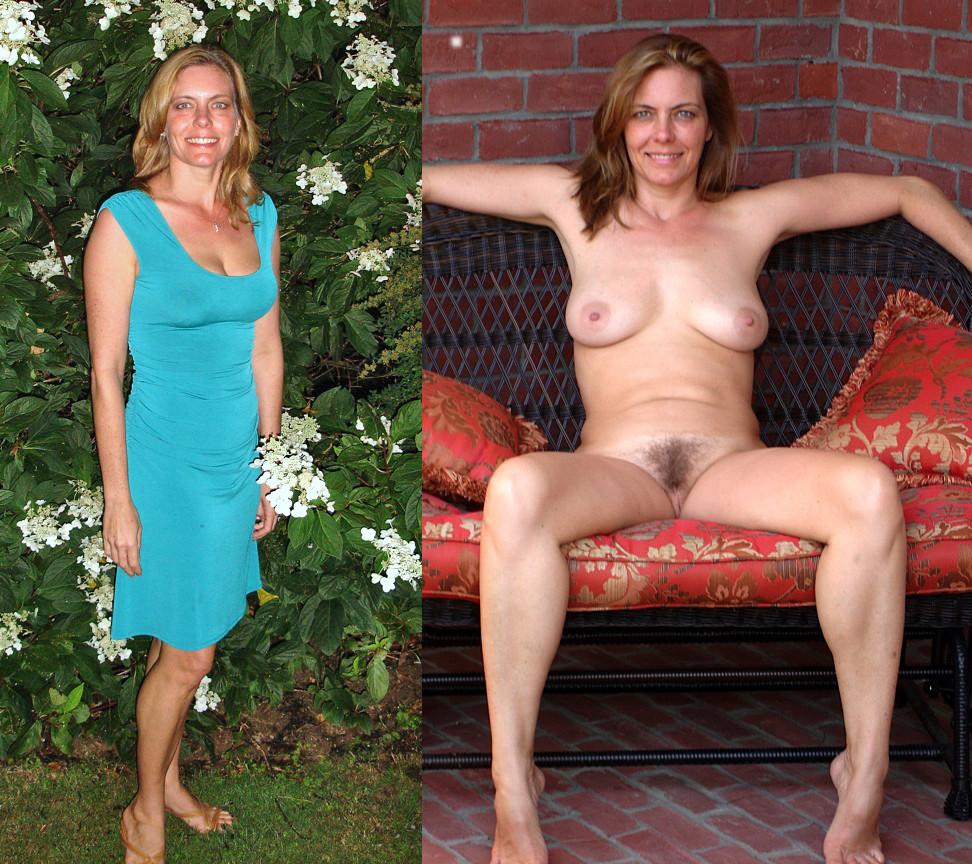 girls dressed undressed