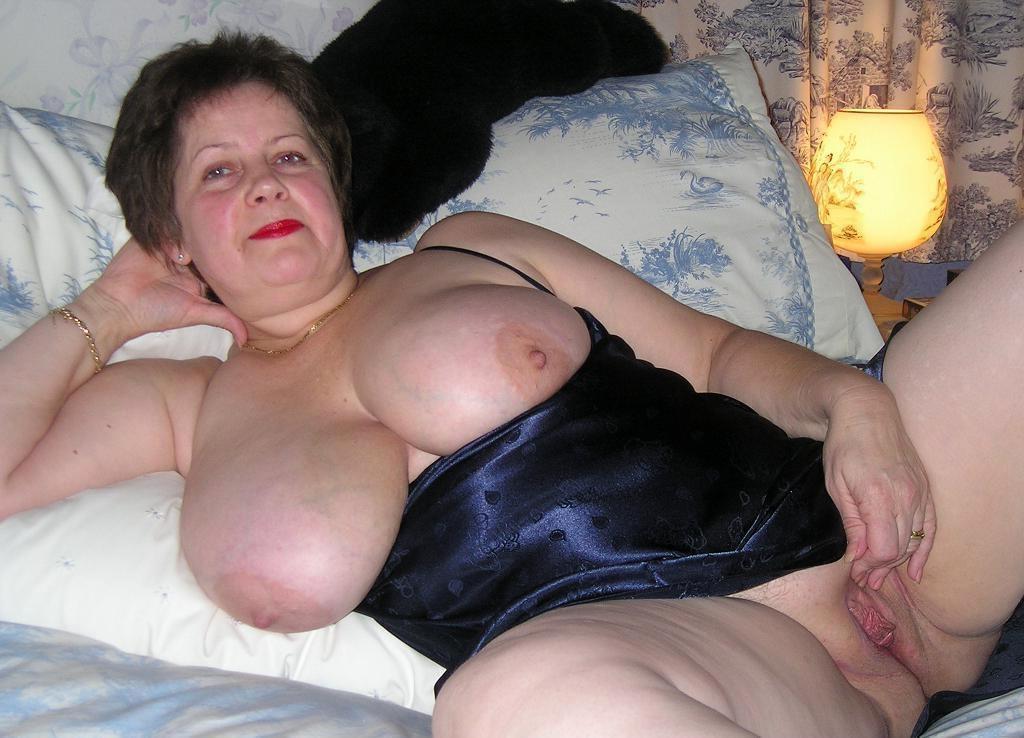 Mature Blonde Big Tits Anal